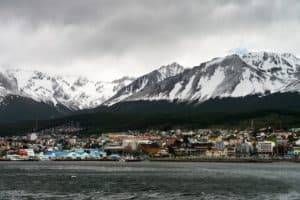 Ushuaia from Beagle Channel