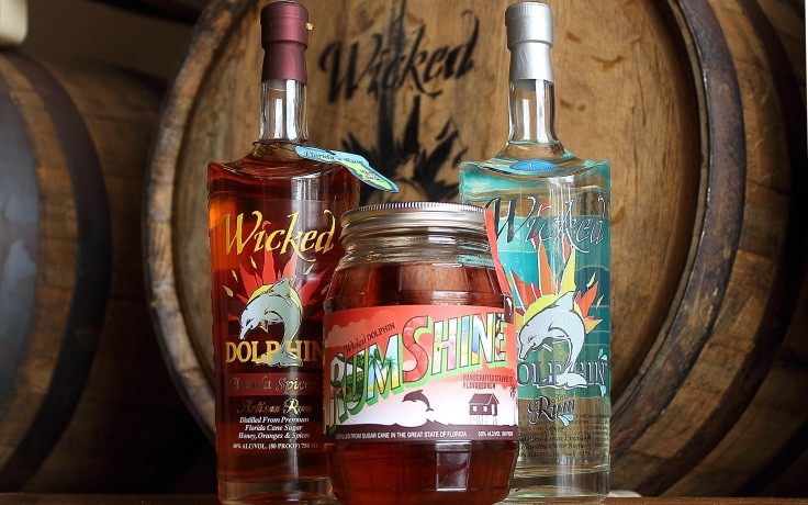 Wicked Dolphin Artisan Rum