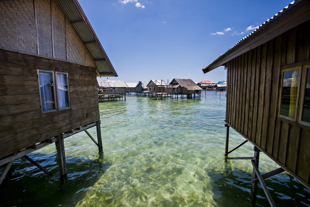 House Of Bajo Tribe In Wakatobi, Sulawesi