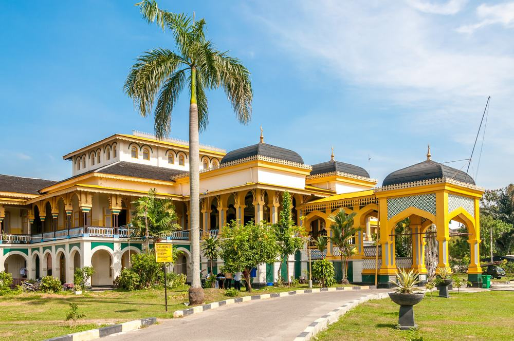 Sultan's Palace Maimoon In Medan