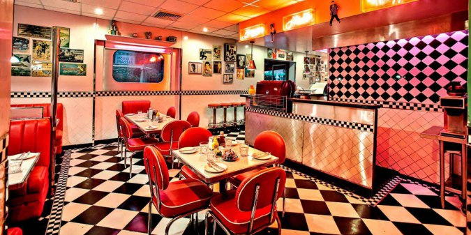 The All American Diner at IHC