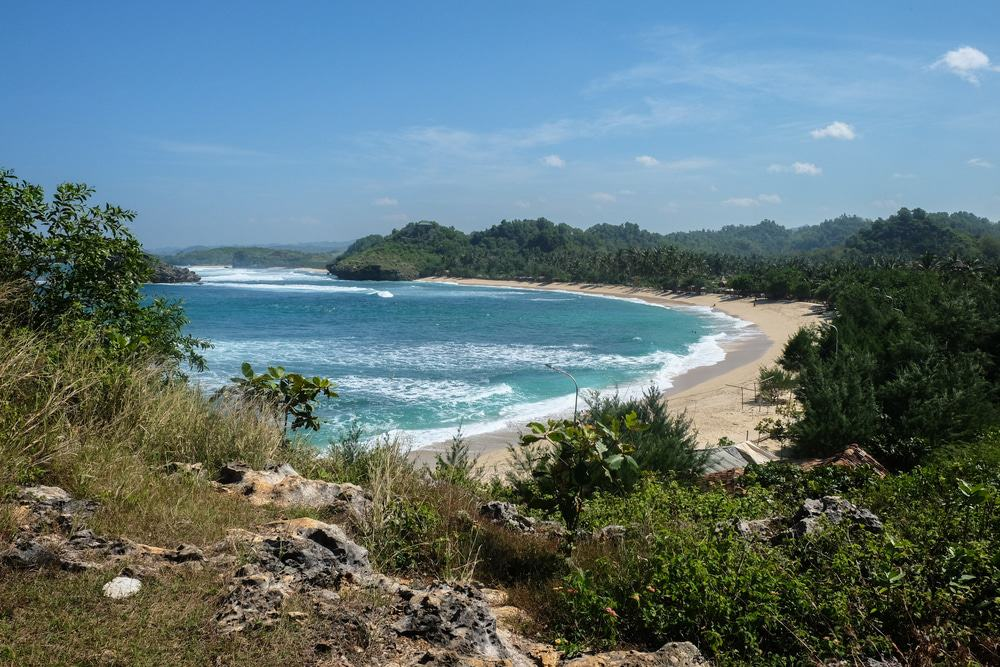 Wediombo Beach