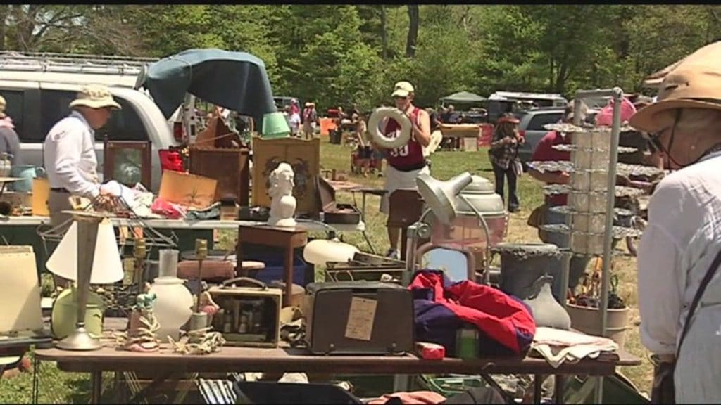 Brimfield Antique Flea Markets