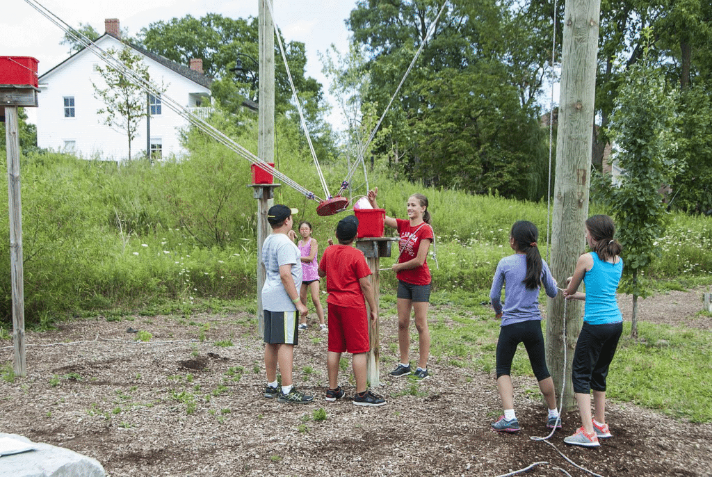 Eyer Ropes Challenge Course
