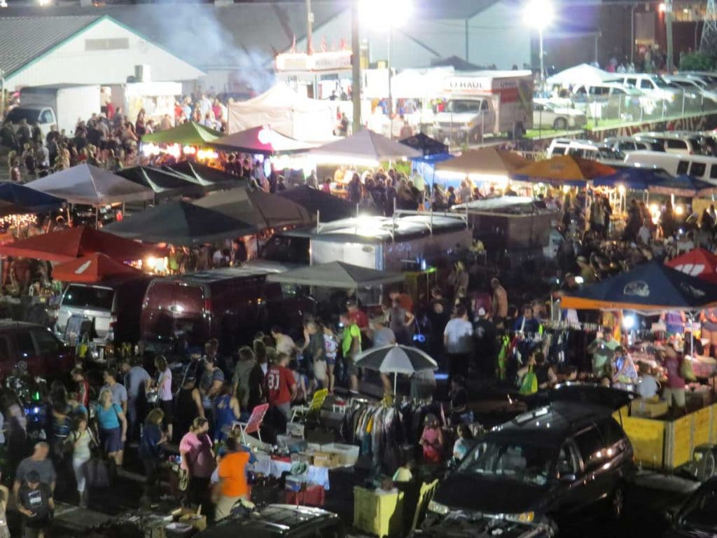 Haunted Halloween All Night Flea Market