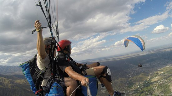 Paragliding From Cerro Arco
