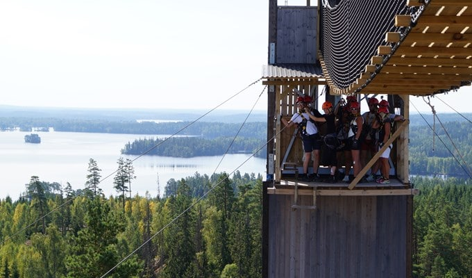 Little Rock Lake Zipline