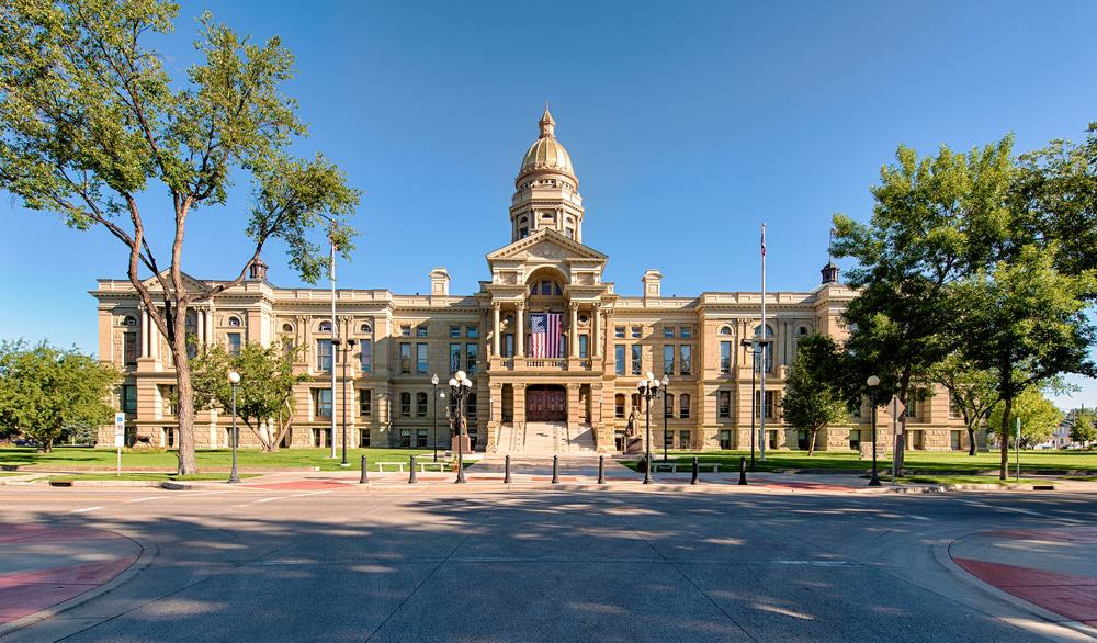 State Capitol Building in Cheyenne
