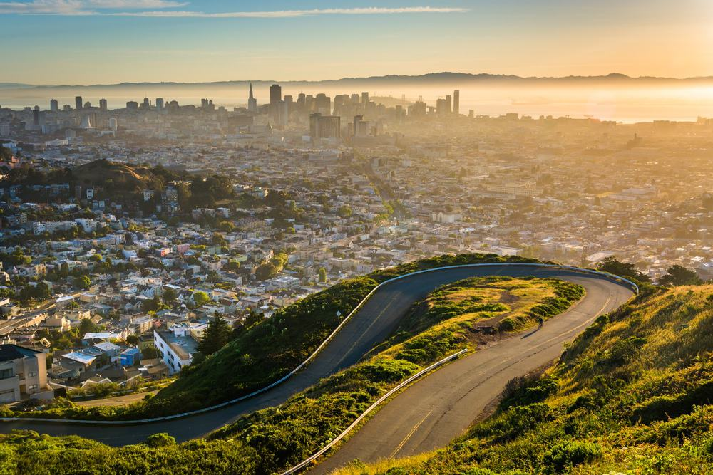 San Francisco - View From Twin Peaks