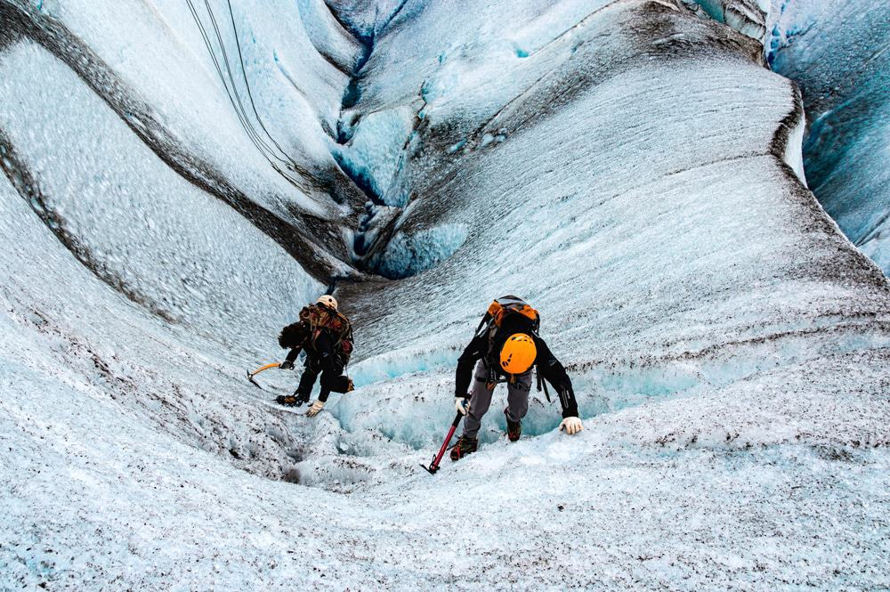 Climbing The Viedma Glacier