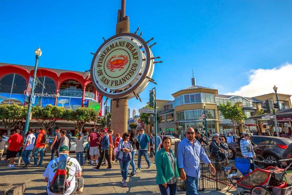 Image result for Head Down to The Waterfront at Fisherman's Wharf san francisco