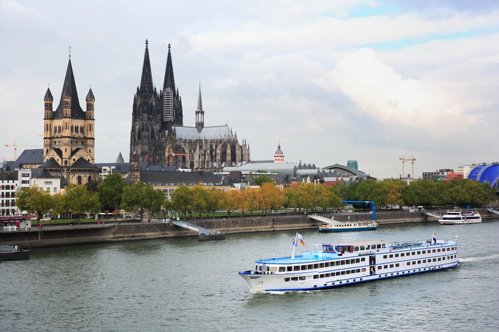 Boat Trip In Cologne
