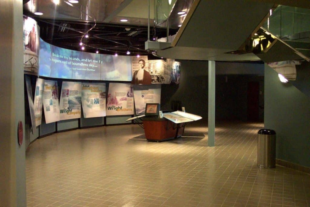 The Wright-Dunbar Interpretive Center