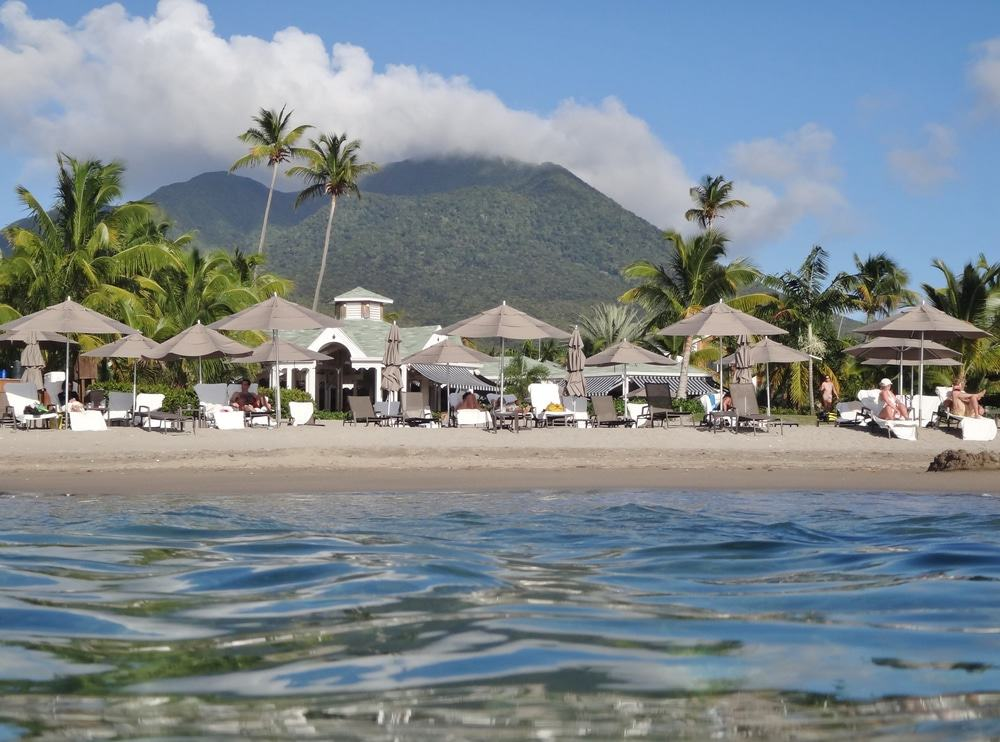 Pinney's Beach, St Kitts and Nevis