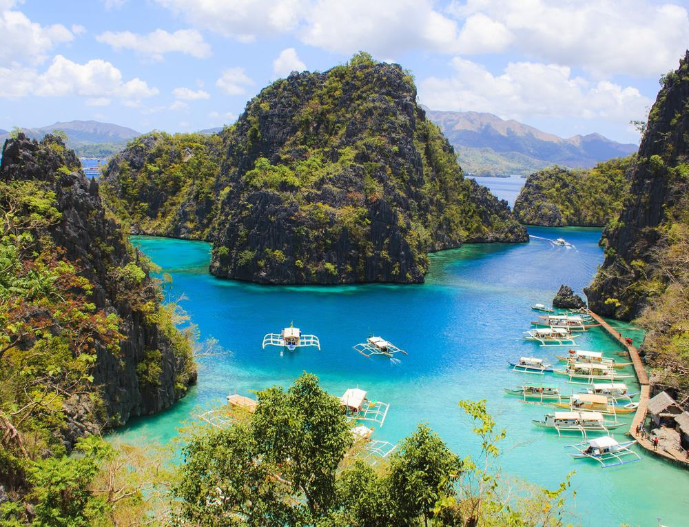 Coron Bay, the Philippines