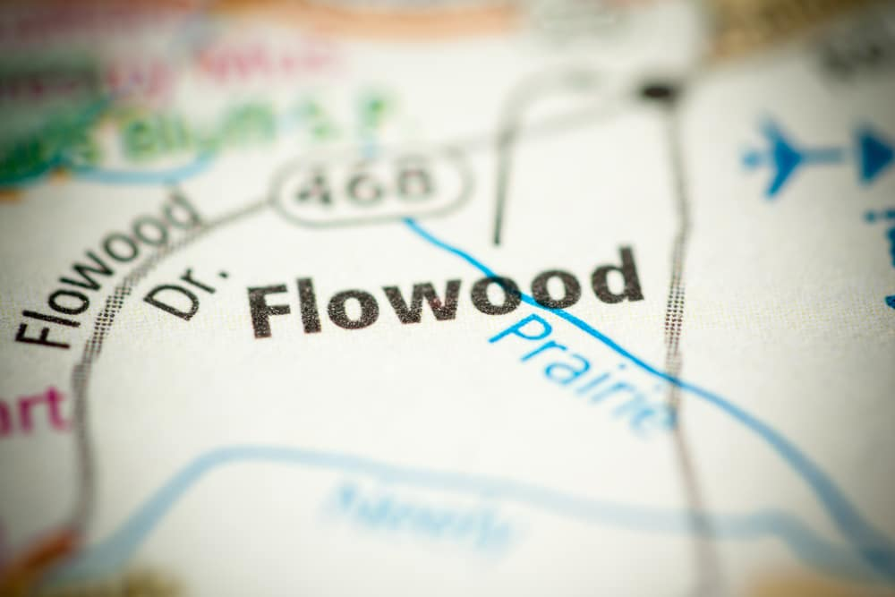 Flowood, Mississippi on Map