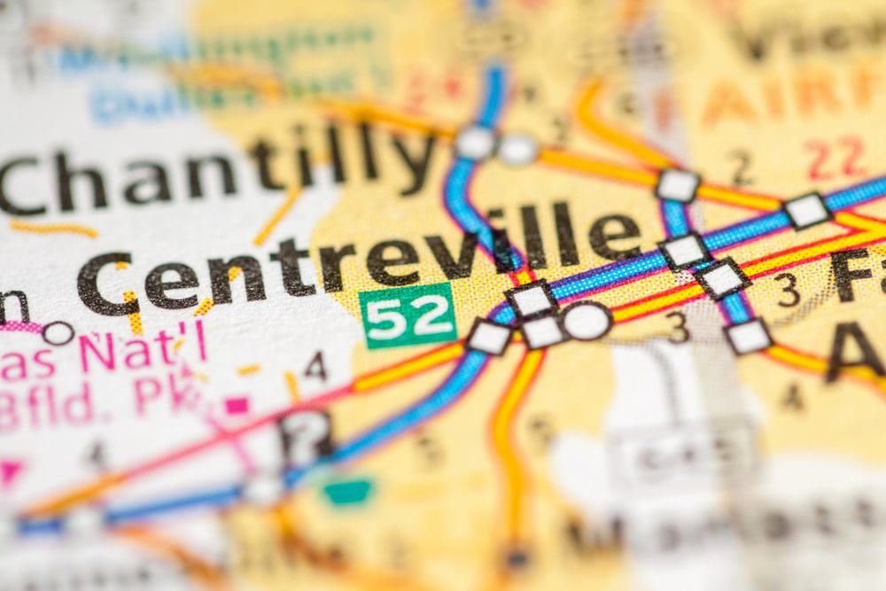Centreville Map