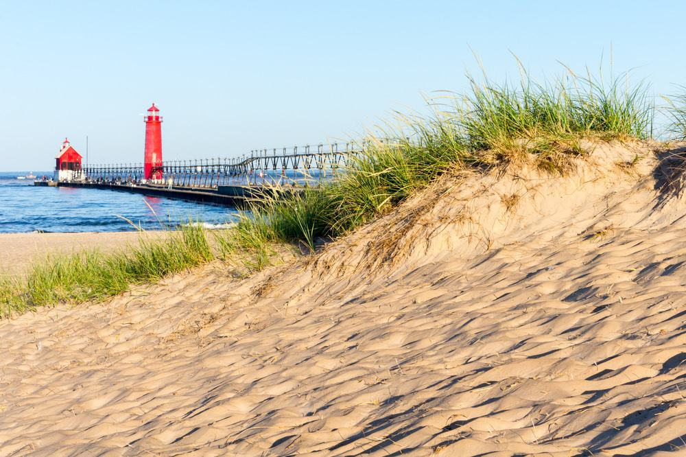 Grand Haven Beach, Michigan