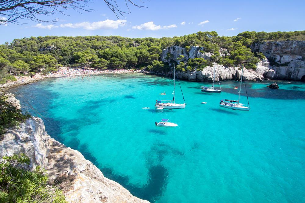 Cala Macarella Beach, Spain