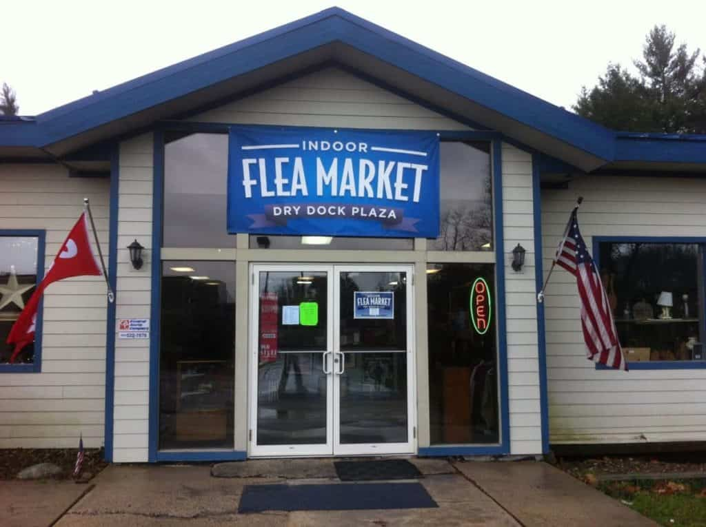 Indoor Flea Market At Dry Dock Plaza