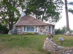 Earl Young Gnome Houses, Charlevoix