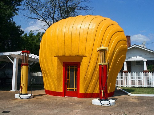The Last Shell Oil Clamshell Station, Winston- Salem