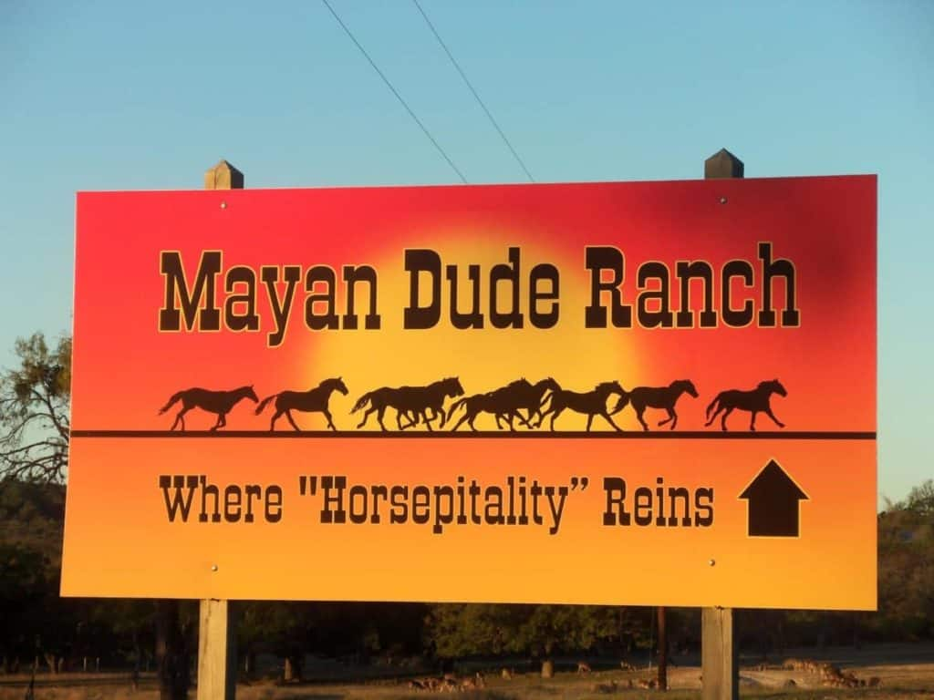 Mayan Dude Ranch