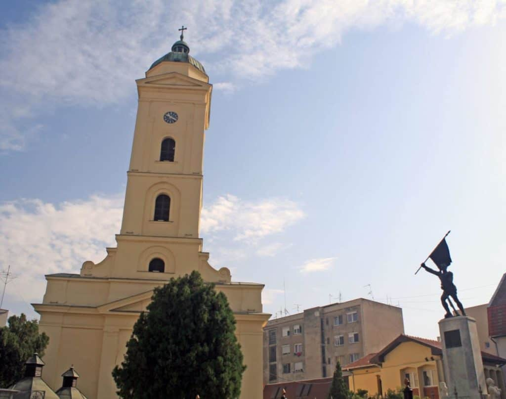Saint Peter And Paul's Church In Sabac