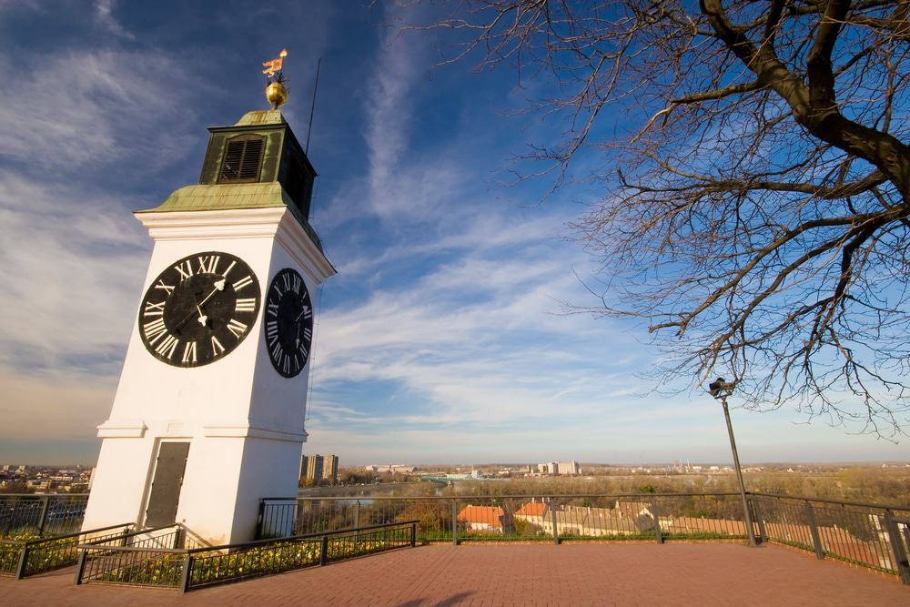 Petrovaradin Clock Tower