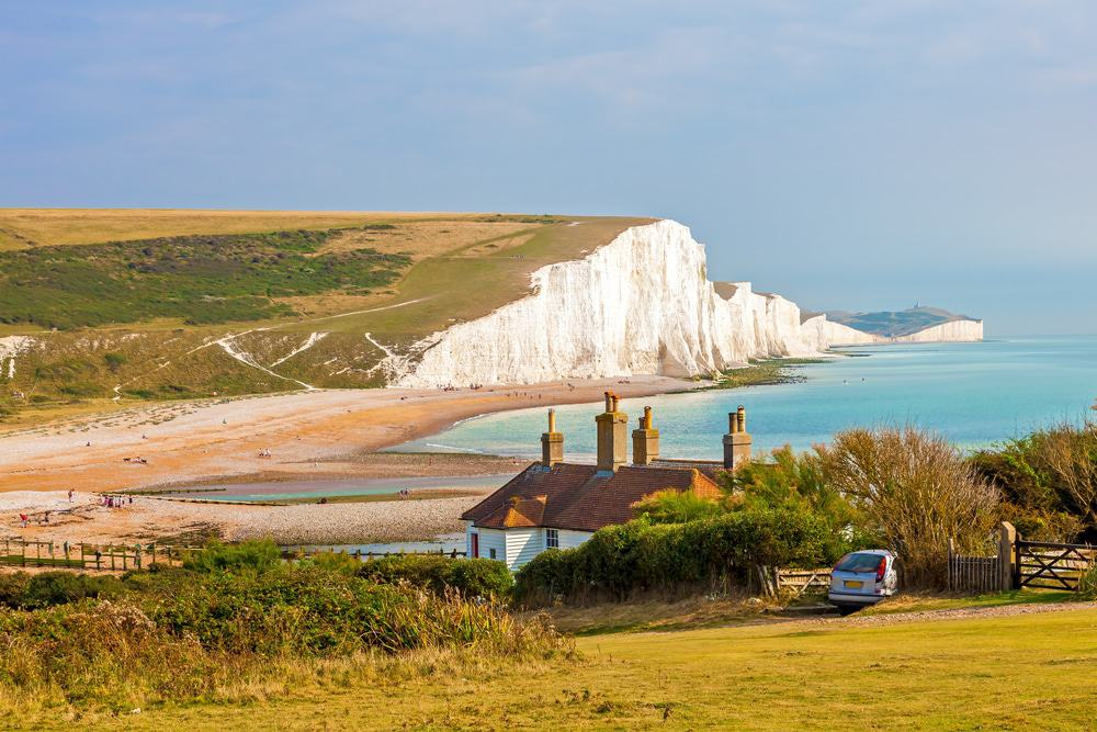 he Seven Sisters Chalk Cliffs