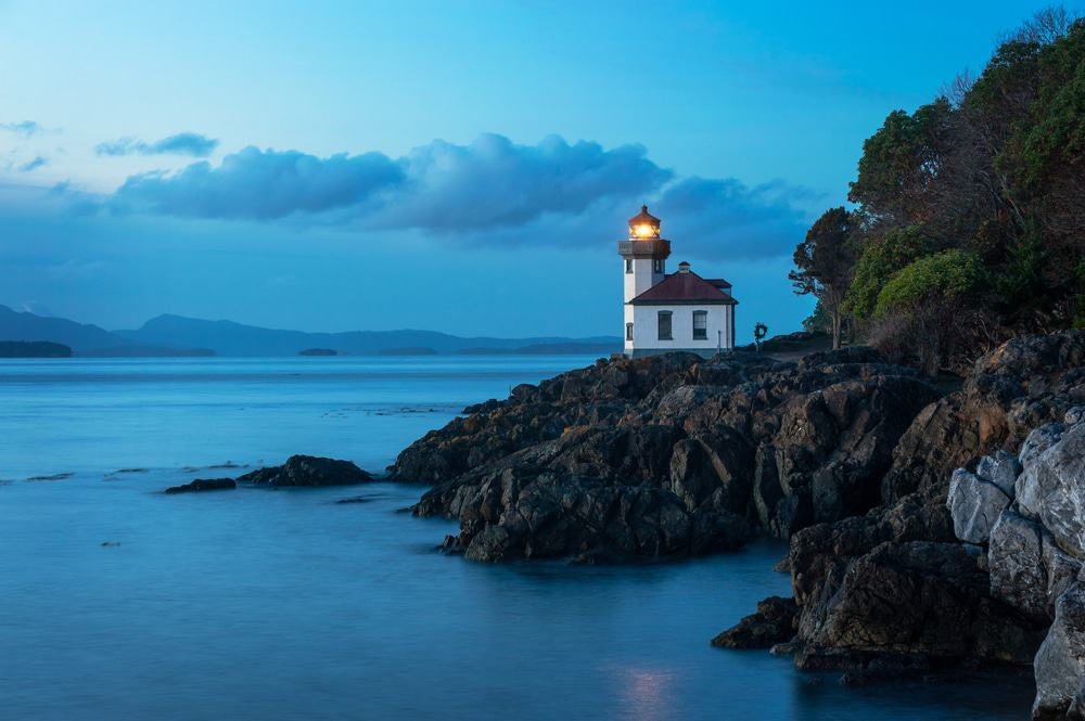 San Juan Island, Lime Kiln Lighthouse
