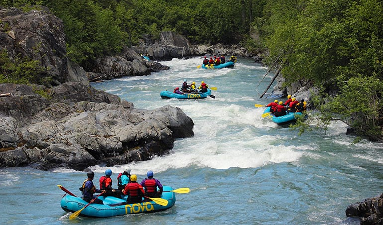 6-Mile Creek Rafting