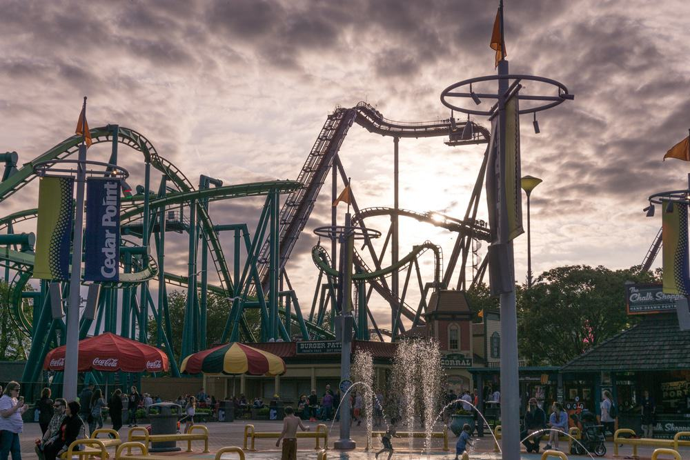 Sandusky, Cedar Point Amusement park