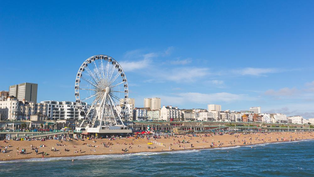 Brighton Beach And Seafront