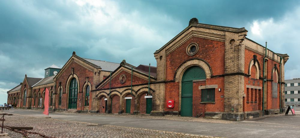 Titanic's Dock And Pump House