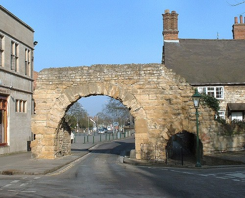 The Newport Arch, Lincoln