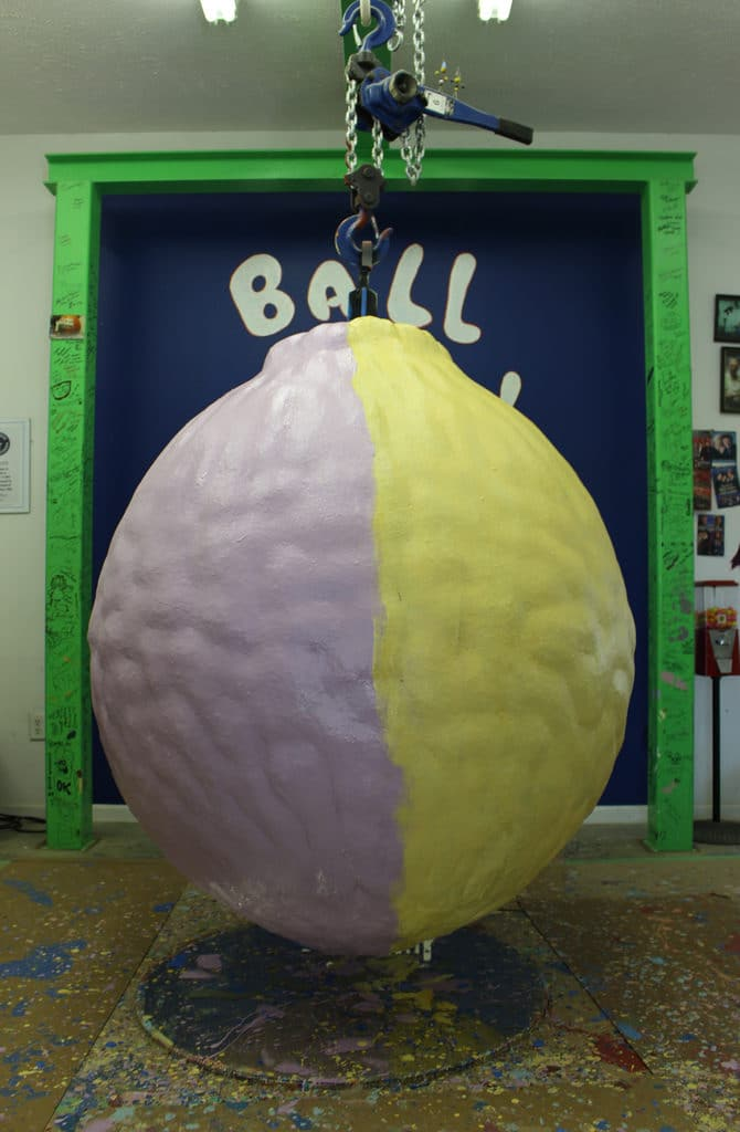 World's Largest Ball of Paint, Alexandria