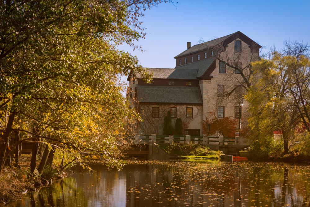 old Mill in Cedarburg, Wisconsin