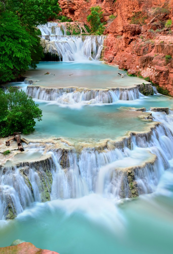 Beaver Falls in Havasu Creek