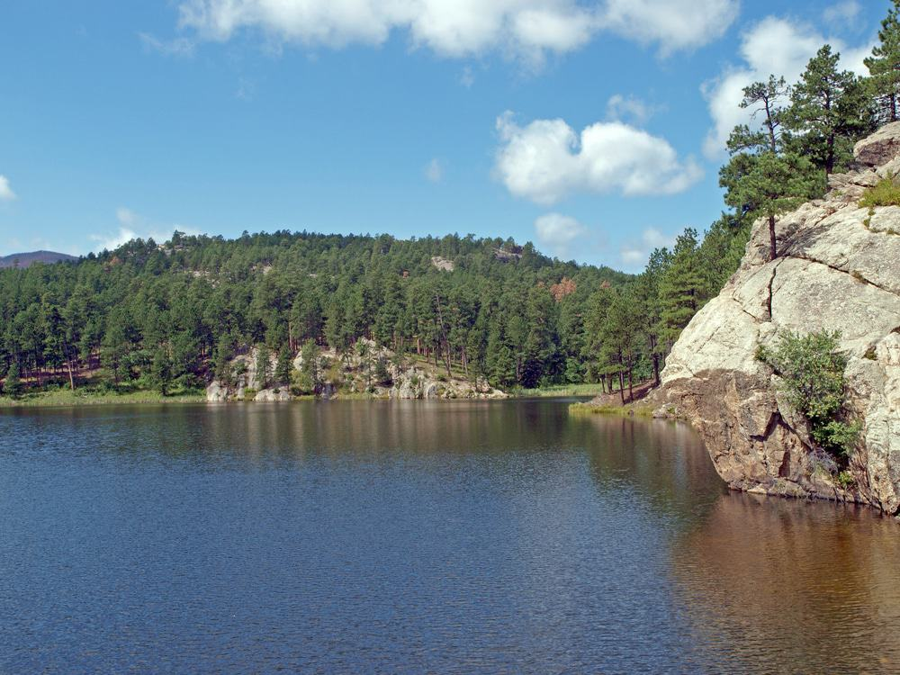 Horse Thief Lake, South Dakota