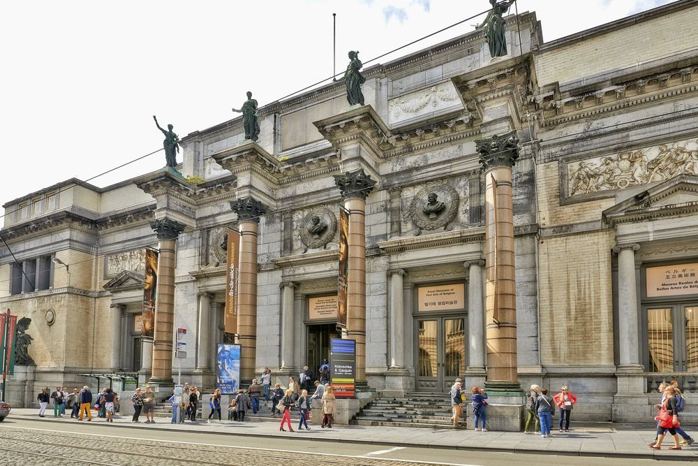 Royal Museums of Fine Arts of Belgium in Brussels