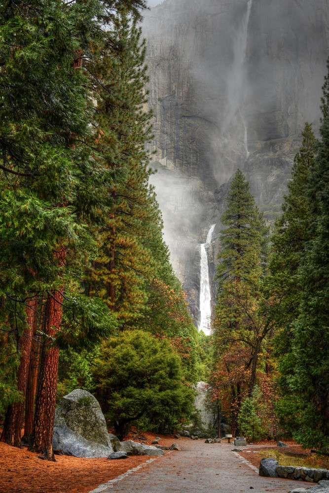 Yosemite Falls National Park