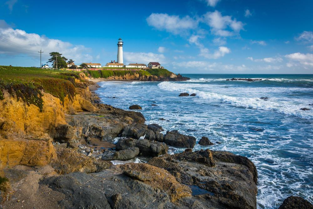 Piegon Point Lighthouse in Pescadero, California
