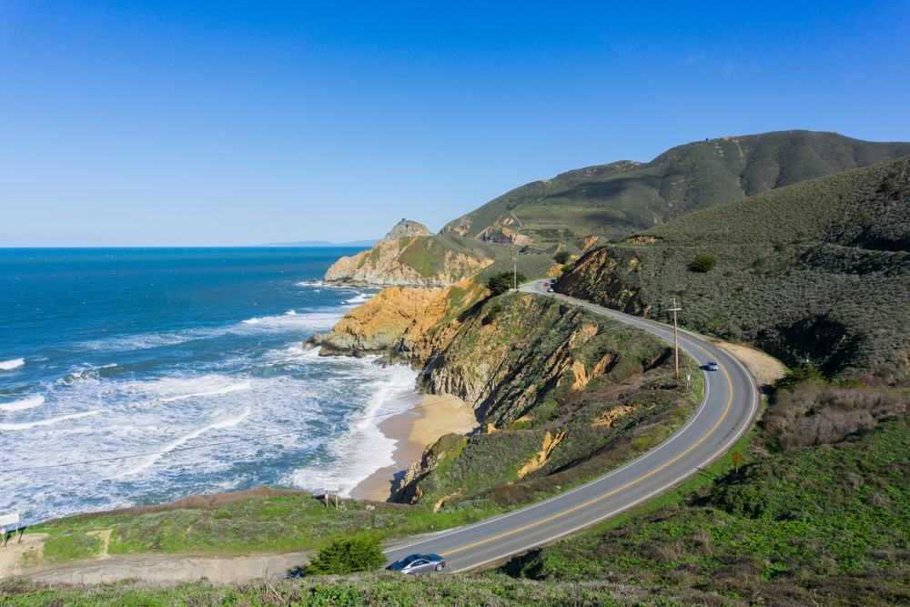 california places visit scenic coast pacific highway things spots shutterstock prettiest visited beach clair trinity drive
