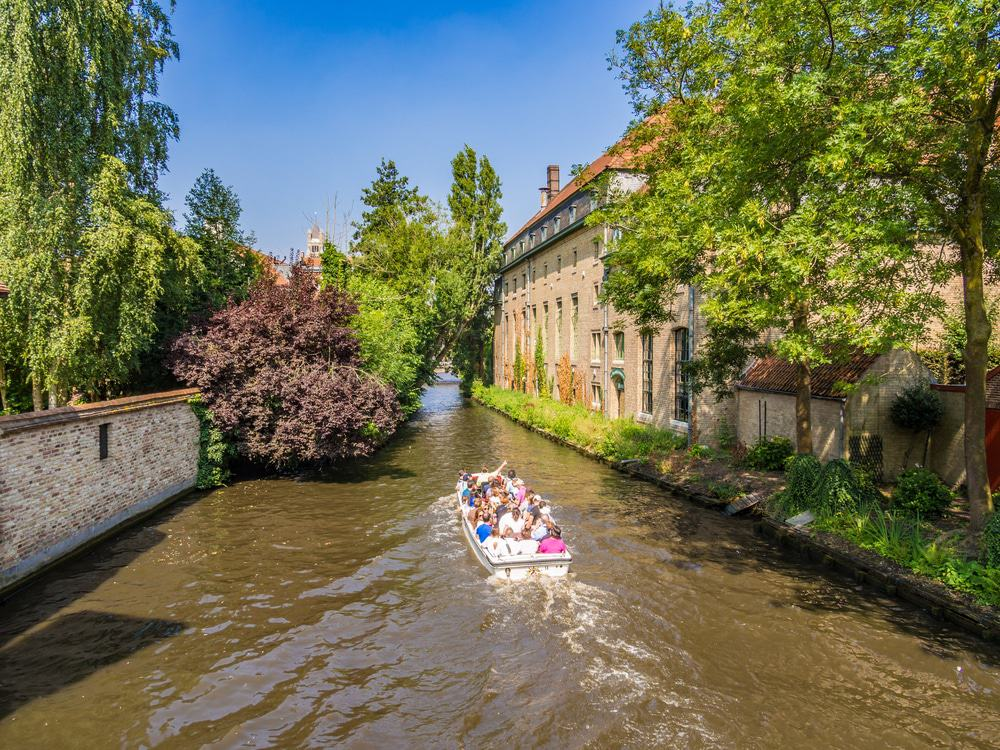 Canal Cruise, Bruges