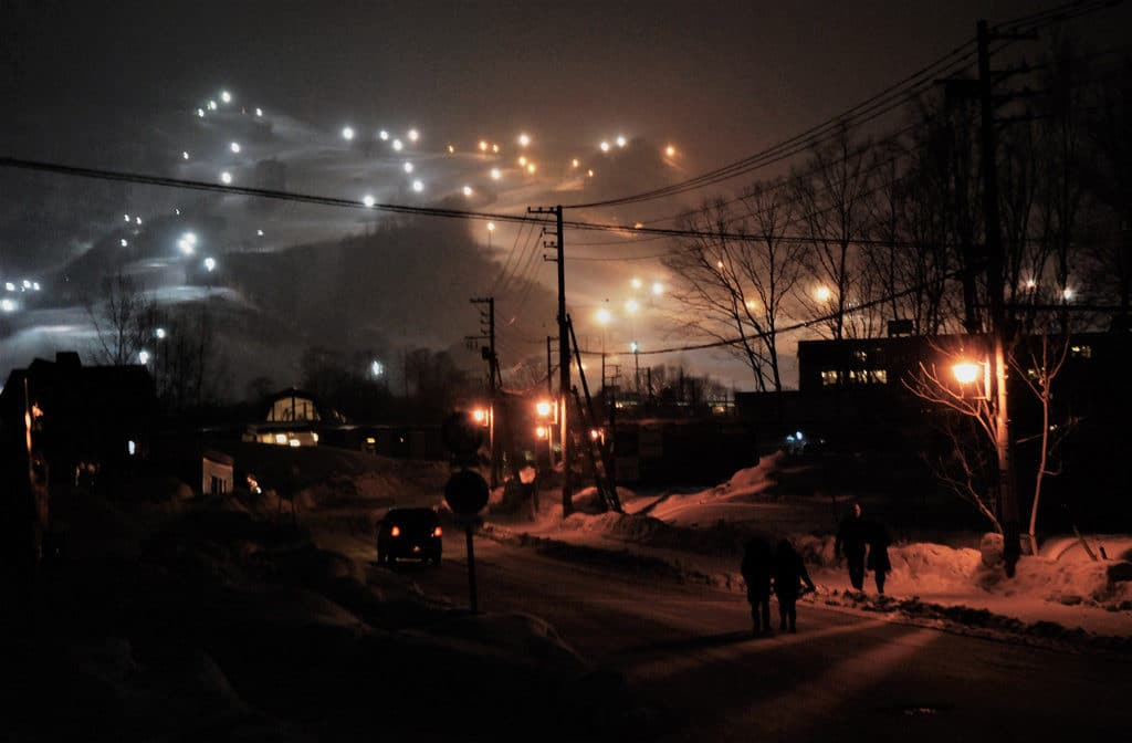 Niseko Night Scene