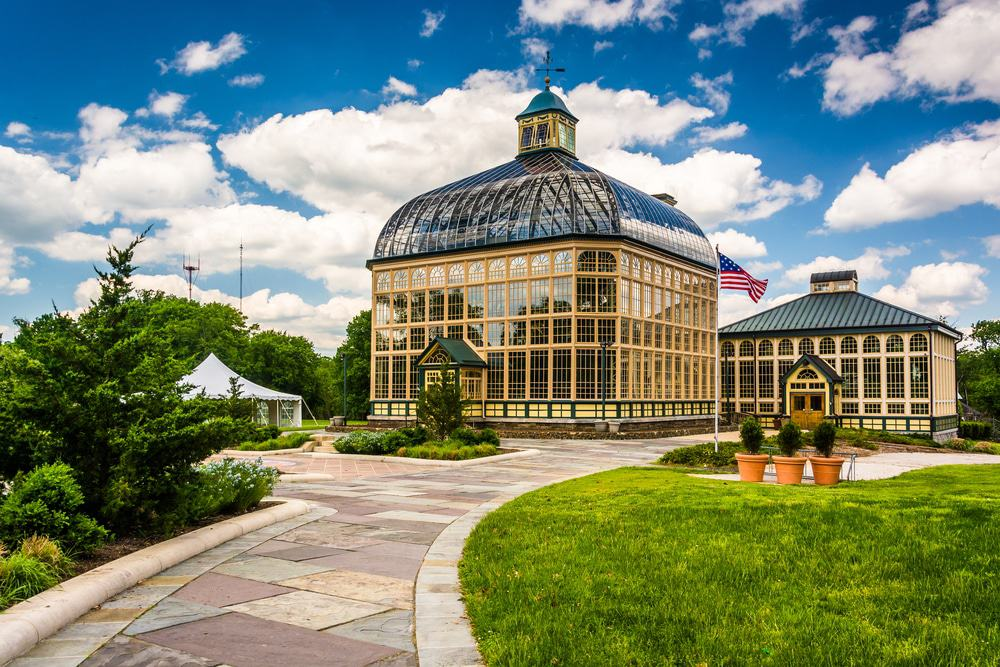 Howard Peters Rawlings Conservatory in Druid Hill Park, Baltimore