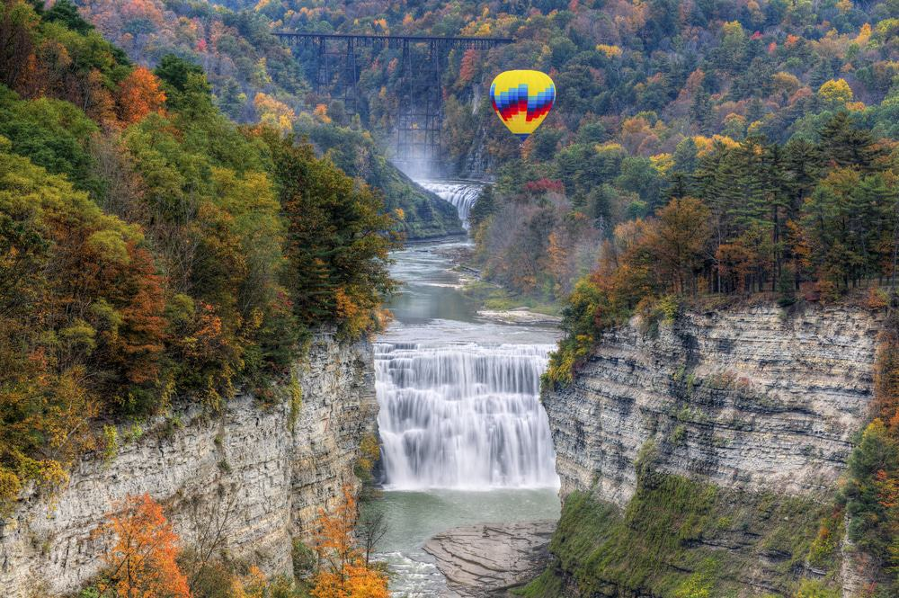 Letchworth State Park, New York State