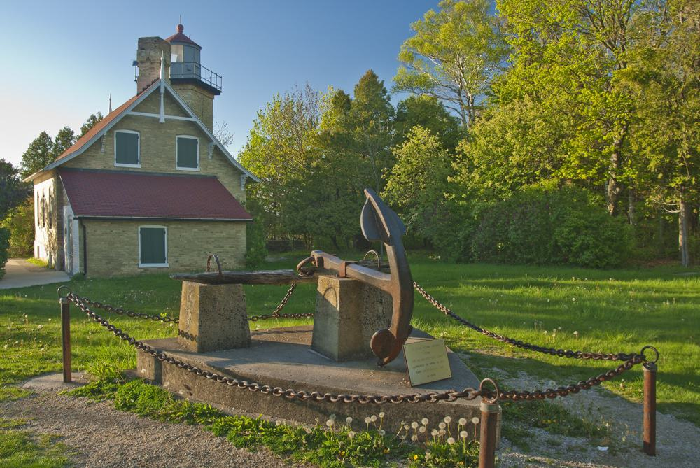 Eagle Bluff Lighthouse, Door County, Wisconsin