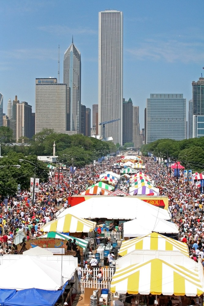Taste of Chicago Festival